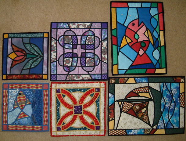 Stained Glass by Machine